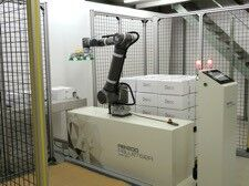 OMRON halves cost to cobot palletise solving current workforce challenges