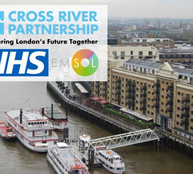 EMSOL selected by the Cross River Partnership to monitor air pollution and noise levels associated with river freight activity on the River Thames