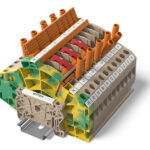 Weidmüller TTB series measuring transformer terminal blocks – safe current and voltage transformer wiring with a single modular terminal block system