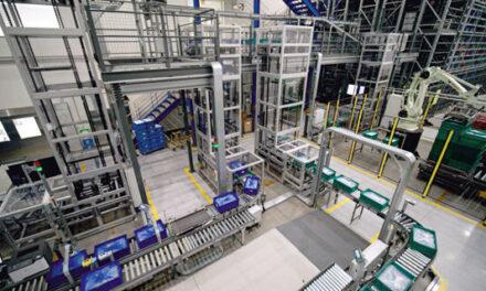 KNAPP – Cosmetics company benefits from robotic production buffer