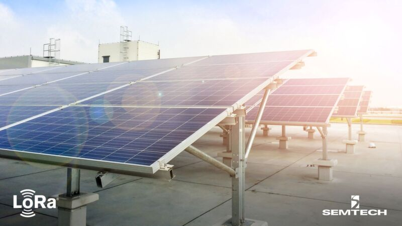Cloud Energy deploys network using LoRaWAN for wireless solar power system enabling effective energy monitoring