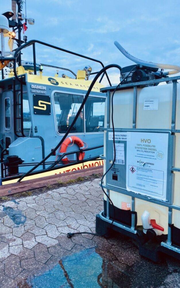 Sea Machines uses biofuel to power tug Nellie Bly on long-haul autonomous journey